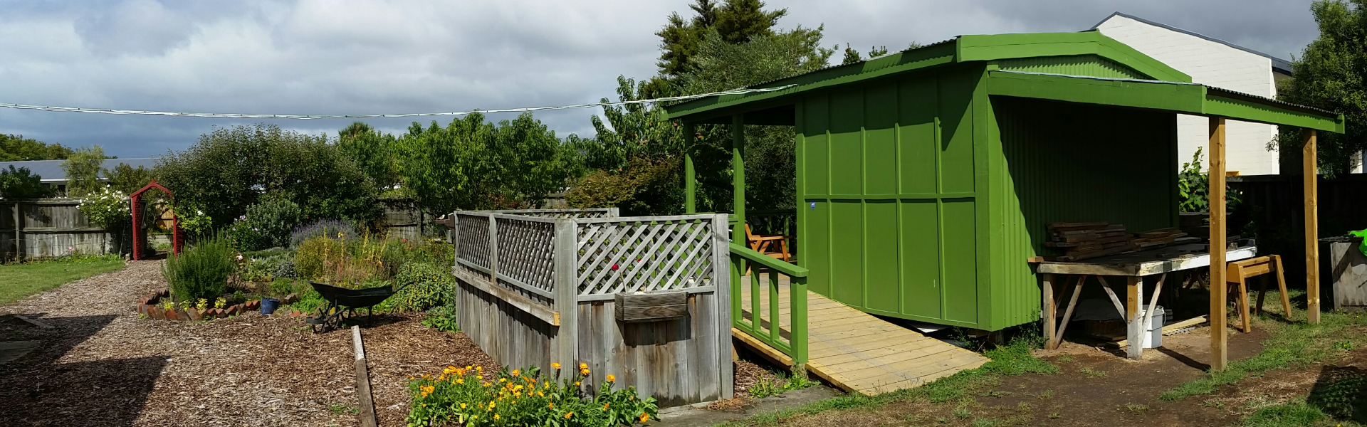 Linwood Mens Shed shed